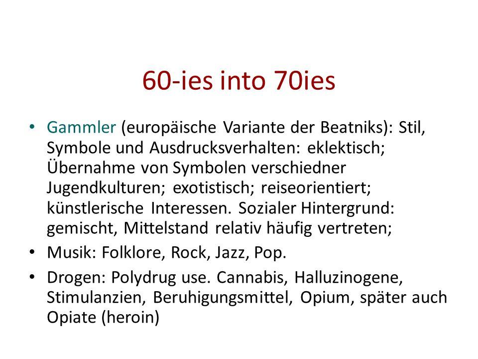 60-ies into 70ies