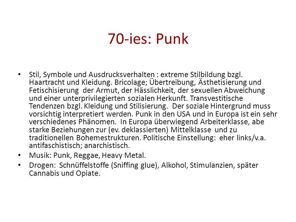70-ies: Punk