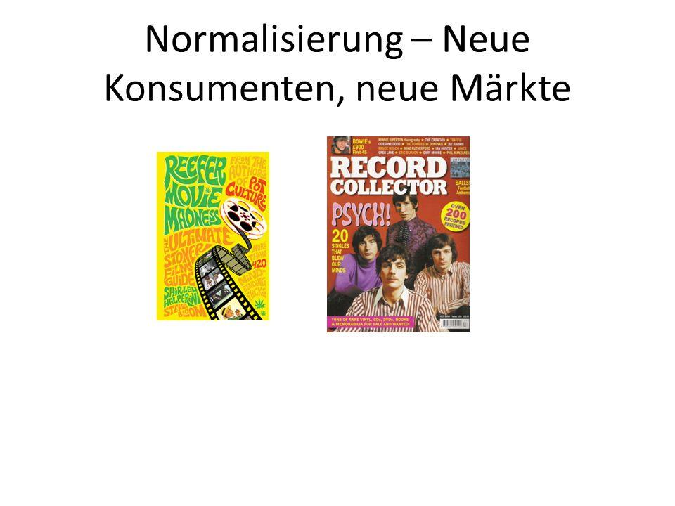 Normalisierung – Neue Konsumenten, neue Märkte