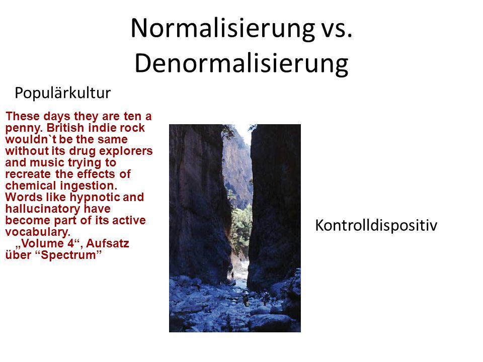 Normalisierung vs. Denormalisierung