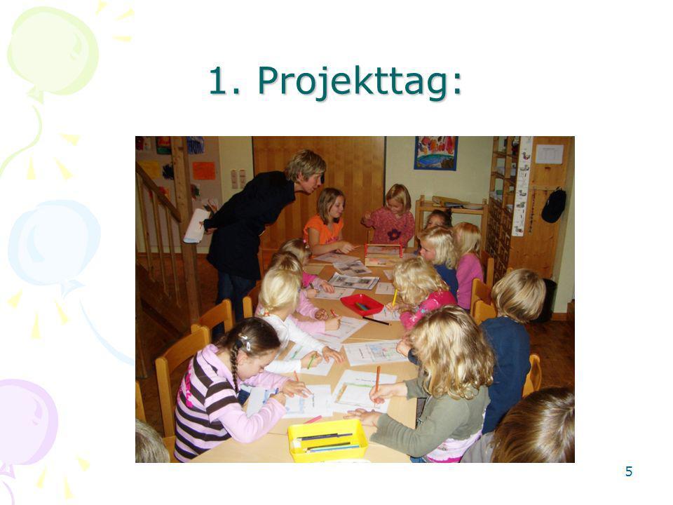 1. Projekttag: