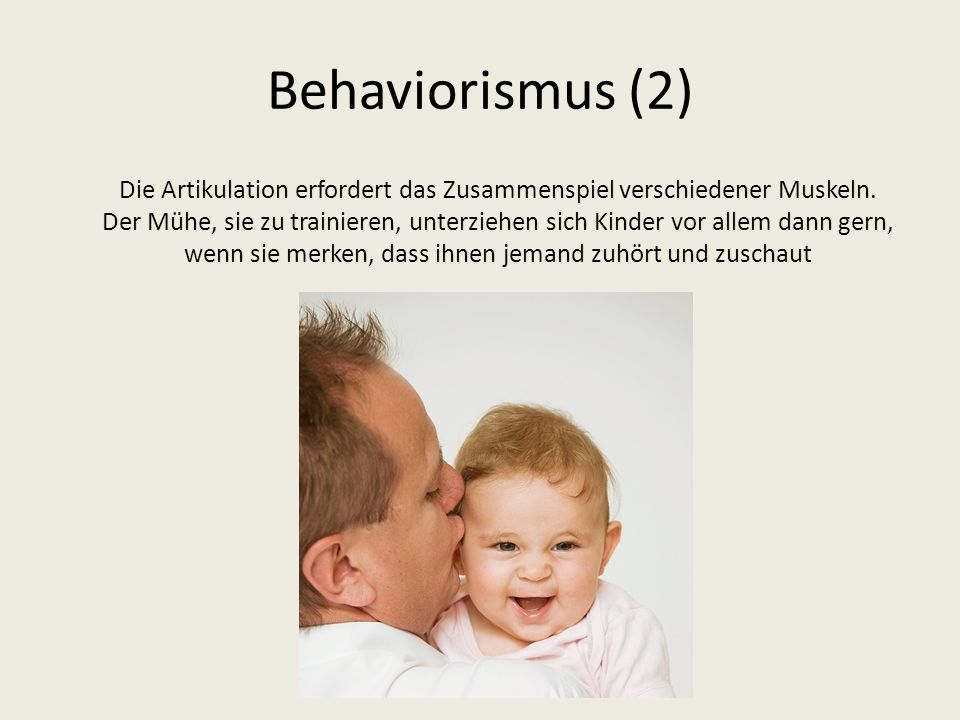 Behaviorismus (2)