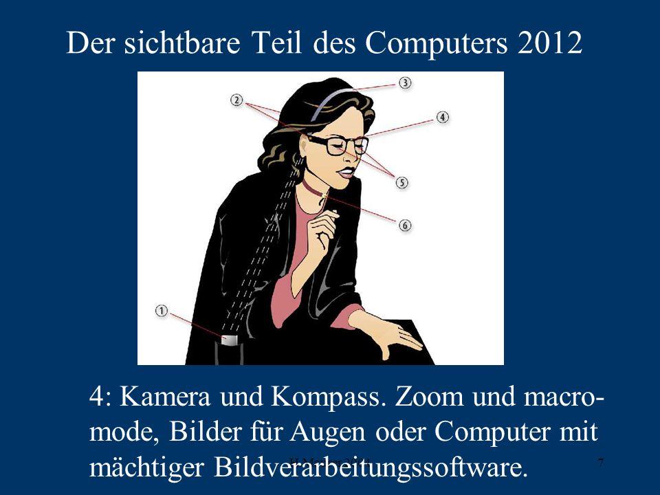 Der sichtbare Teil des Computers 2012