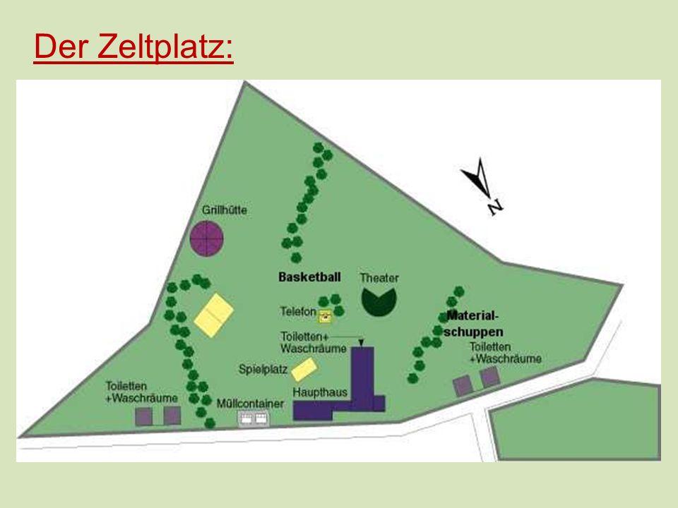 Der Zeltplatz: