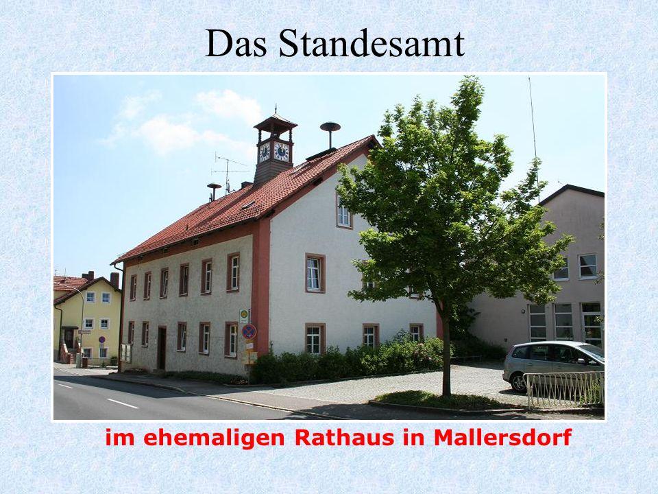 im ehemaligen Rathaus in Mallersdorf