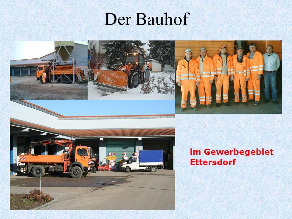 Der Bauhof im Gewerbegebiet Ettersdorf 24