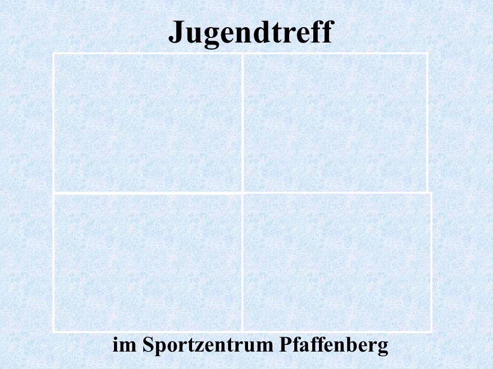 im Sportzentrum Pfaffenberg
