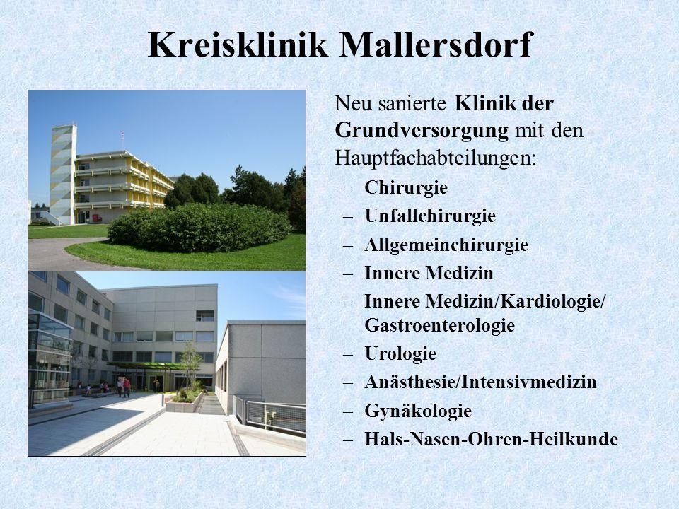 Kreisklinik Mallersdorf