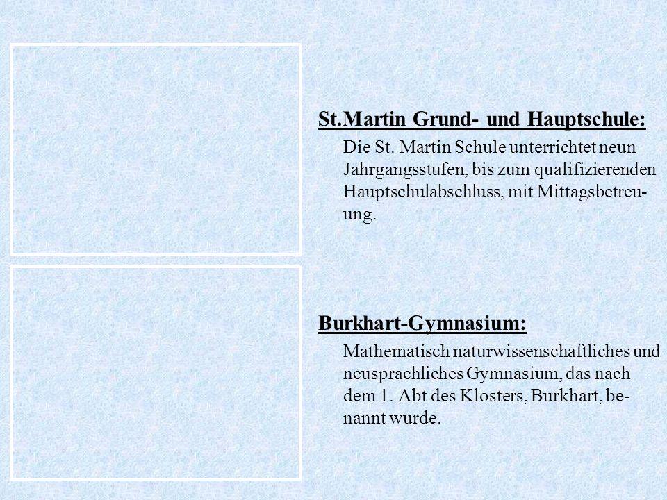 St.Martin Grund- und Hauptschule: