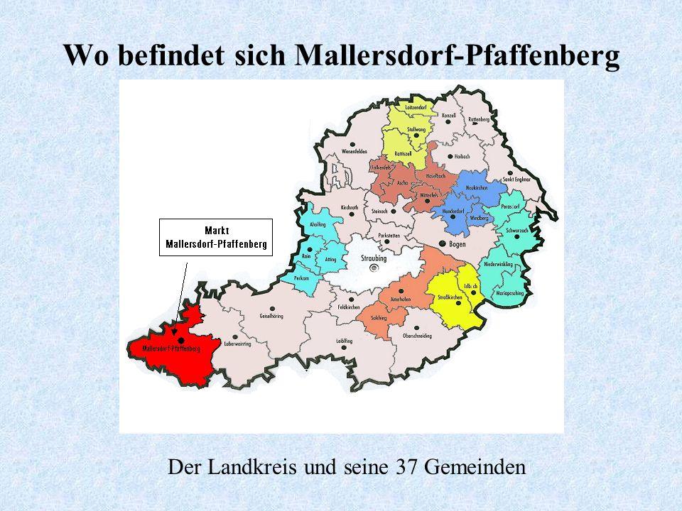 Wo befindet sich Mallersdorf-Pfaffenberg