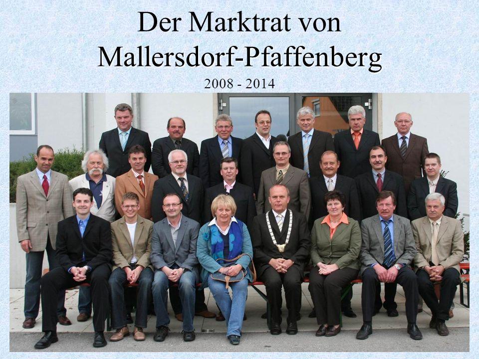 Der Marktrat von Mallersdorf-Pfaffenberg