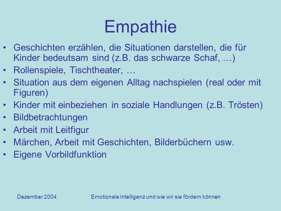 Emotionale Intelligenz und wie wir sie fördern können