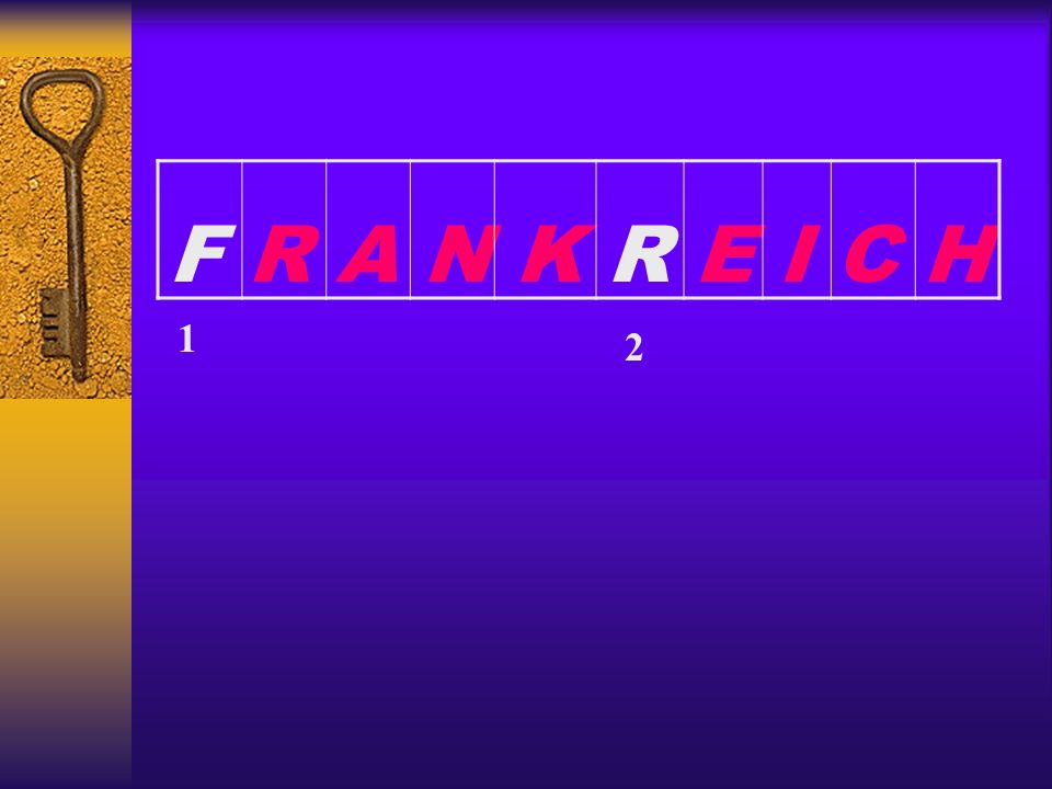 F R A N K R E I C H 1 2