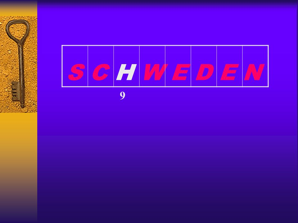 S C H W E D E N 9
