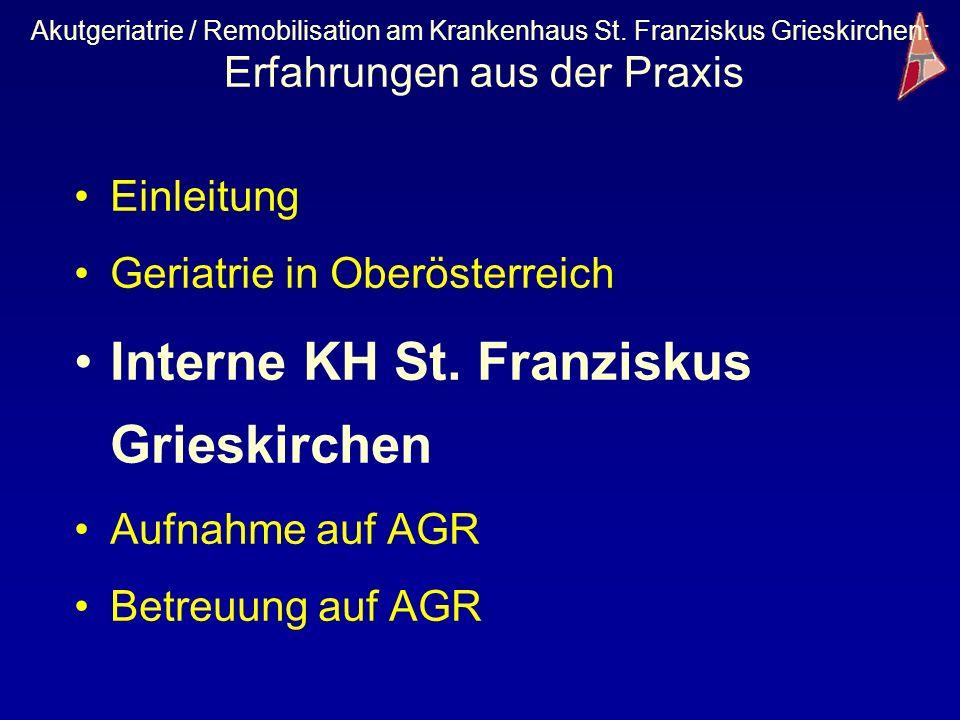 Interne KH St. Franziskus Grieskirchen