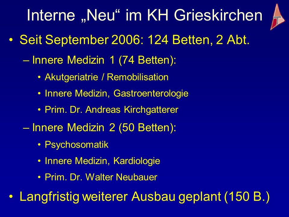"""Interne """"Neu im KH Grieskirchen"""