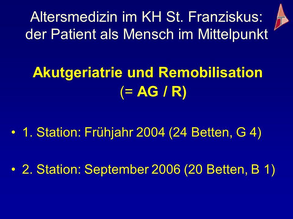 Akutgeriatrie und Remobilisation (= AG / R)