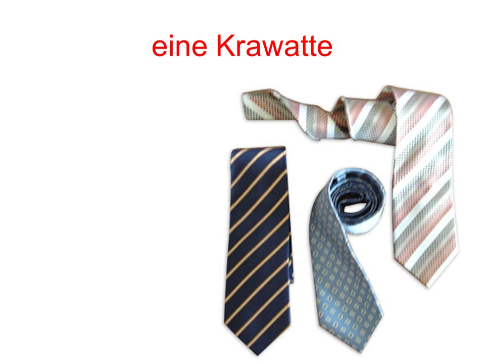 eine Krawatte