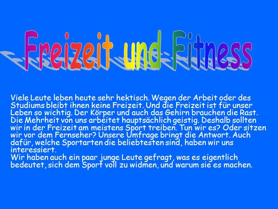 Freizeit und Fitness