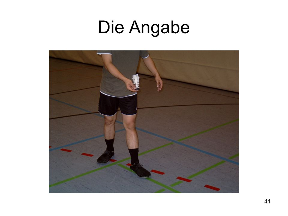 Die Angabe