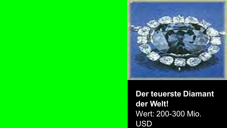 Der teuerste Diamant der Welt! Wert: 200-300 Mio. USD
