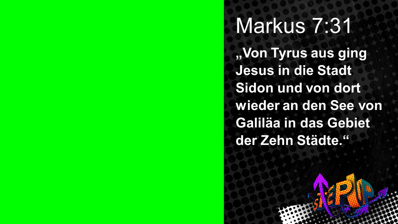 Markus 7:31 Markus 7:31.