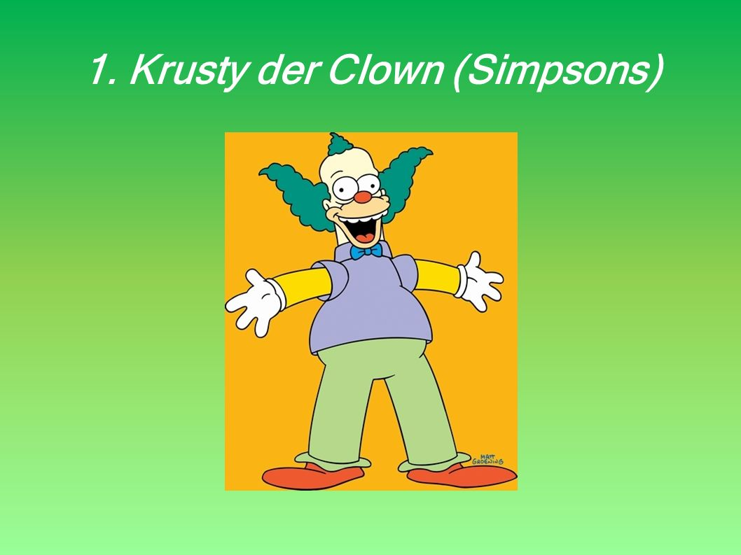 1. Krusty der Clown (Simpsons)