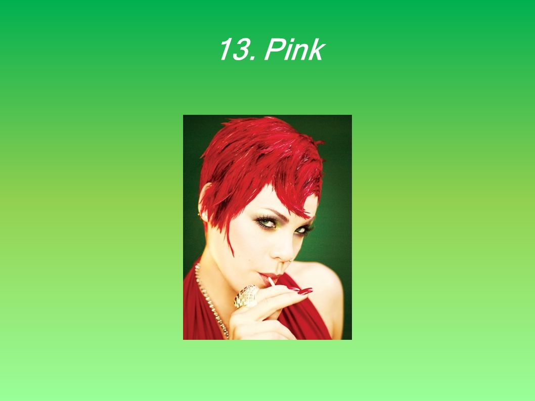 13. Pink
