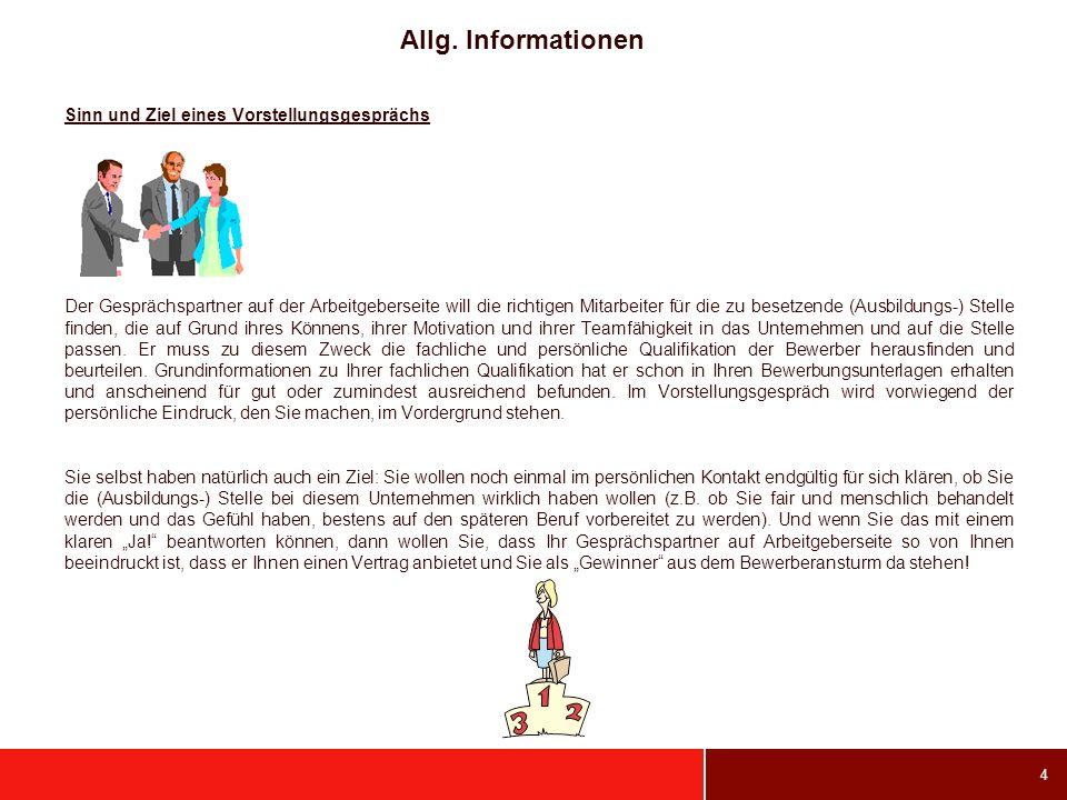 Allg. Informationen