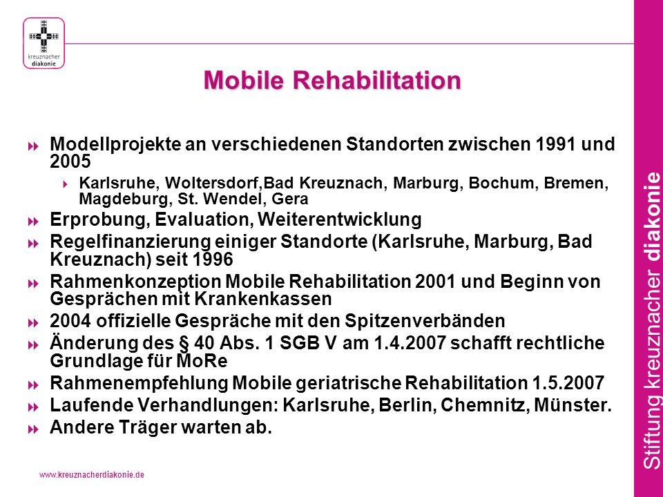 Mobile Rehabilitation