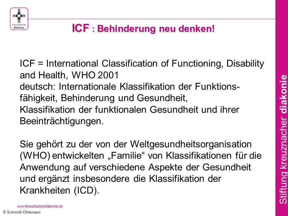 ICF : Behinderung neu denken!