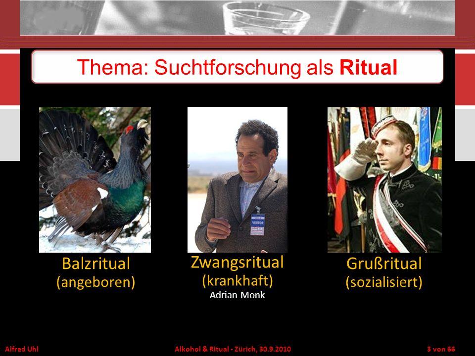 Thema: Suchtforschung als Ritual