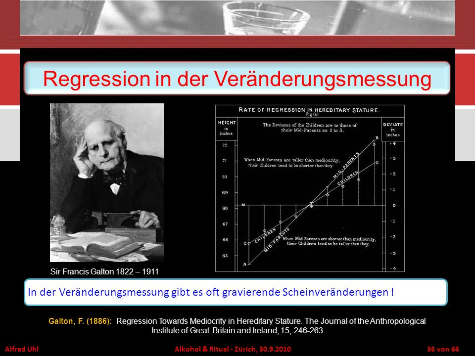 Regression in der Veränderungsmessung