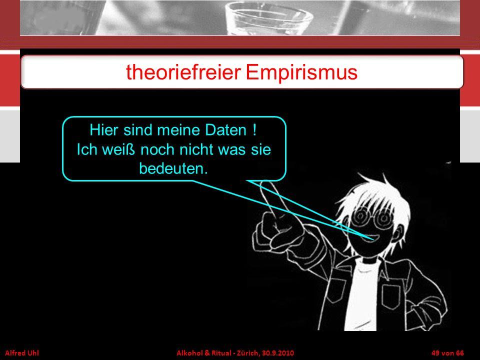 theoriefreier Empirismus