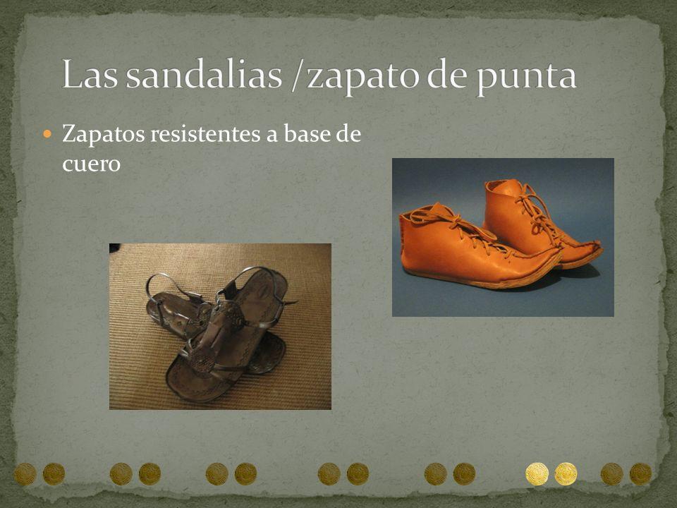 Las sandalias /zapato de punta