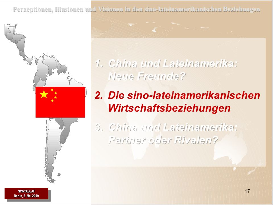 China und Lateinamerika: Neue Freunde