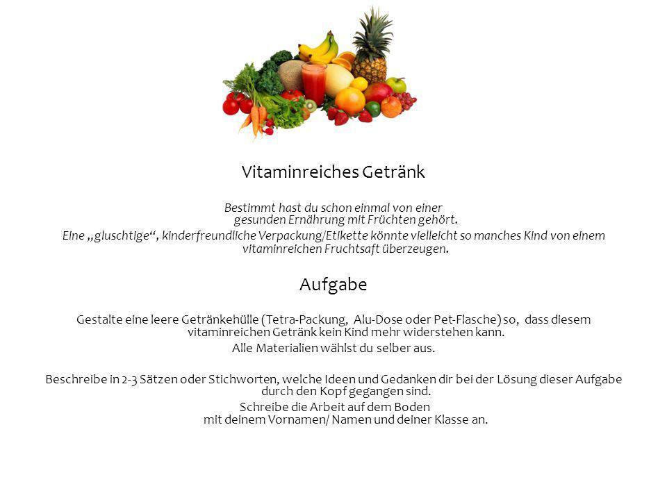 Vitaminreiches Getränk