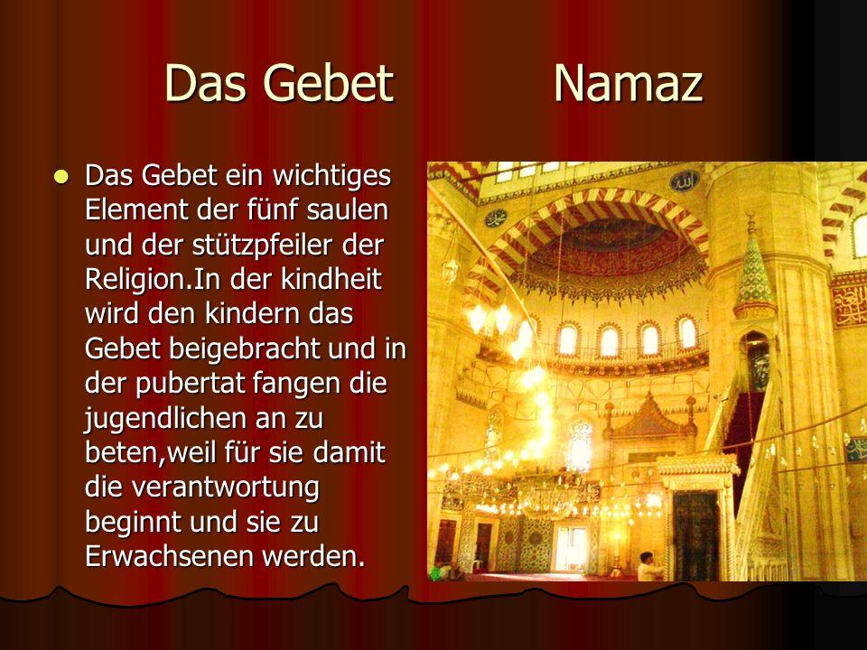 Das Gebet Namaz