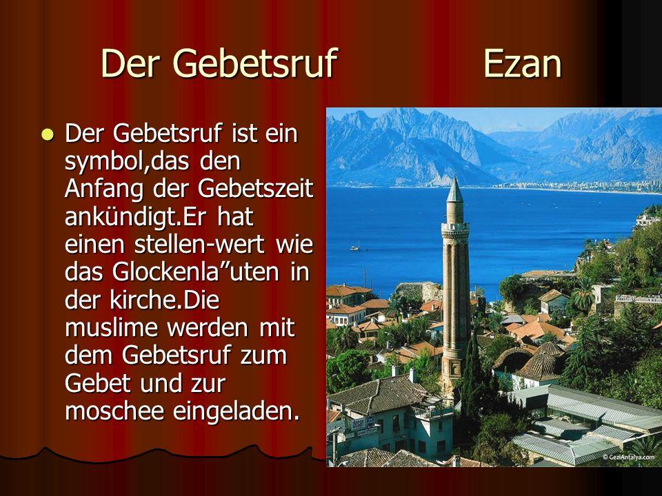 Der Gebetsruf Ezan