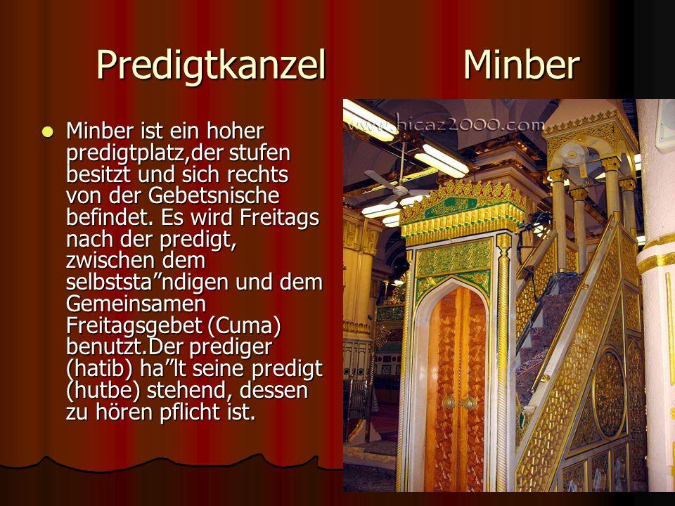 Predigtkanzel Minber