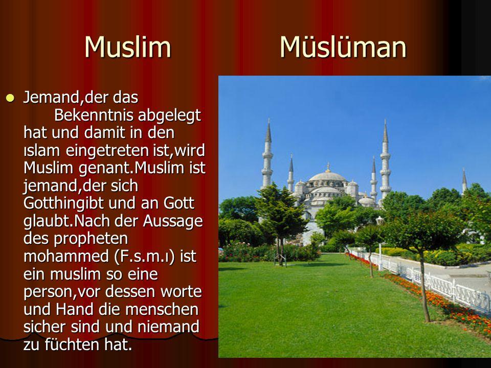 Muslim Müslüman