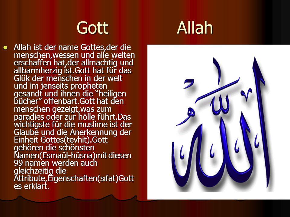 Gott Allah