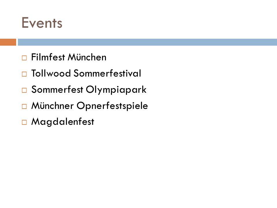 Events Filmfest München Tollwood Sommerfestival Sommerfest Olympiapark