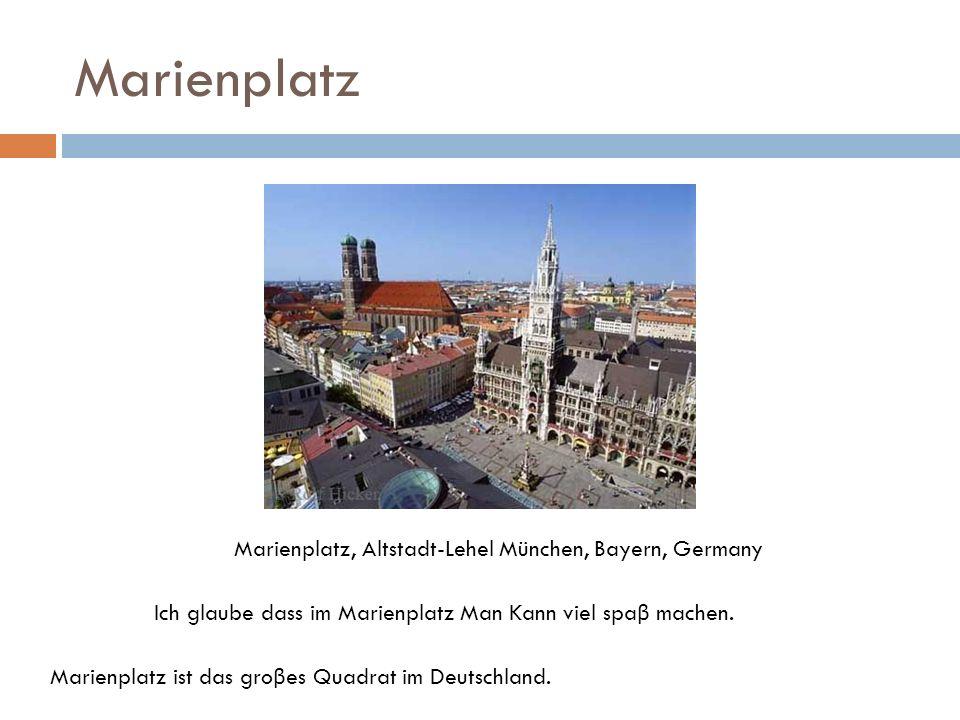 Marienplatz Marienplatz, Altstadt-Lehel München, Bayern, Germany