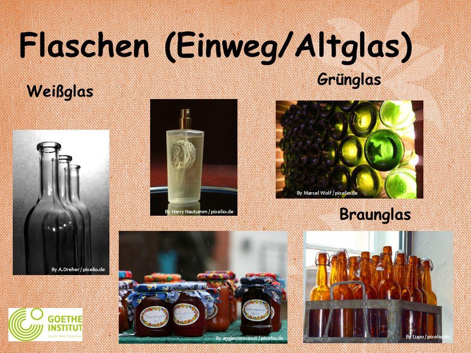 Flaschen (Einweg/Altglas)