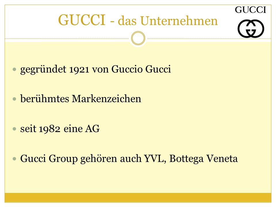 GUCCI - das Unternehmen