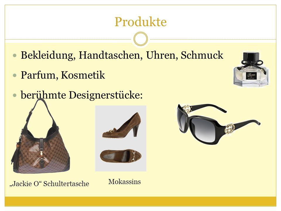Produkte Bekleidung, Handtaschen, Uhren, Schmuck Parfum, Kosmetik