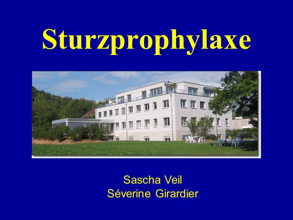 Sturzprophylaxe Sascha Veil. Séverine Girardier.