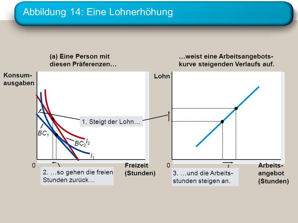 Abbildung 14: Eine Lohnerhöhung