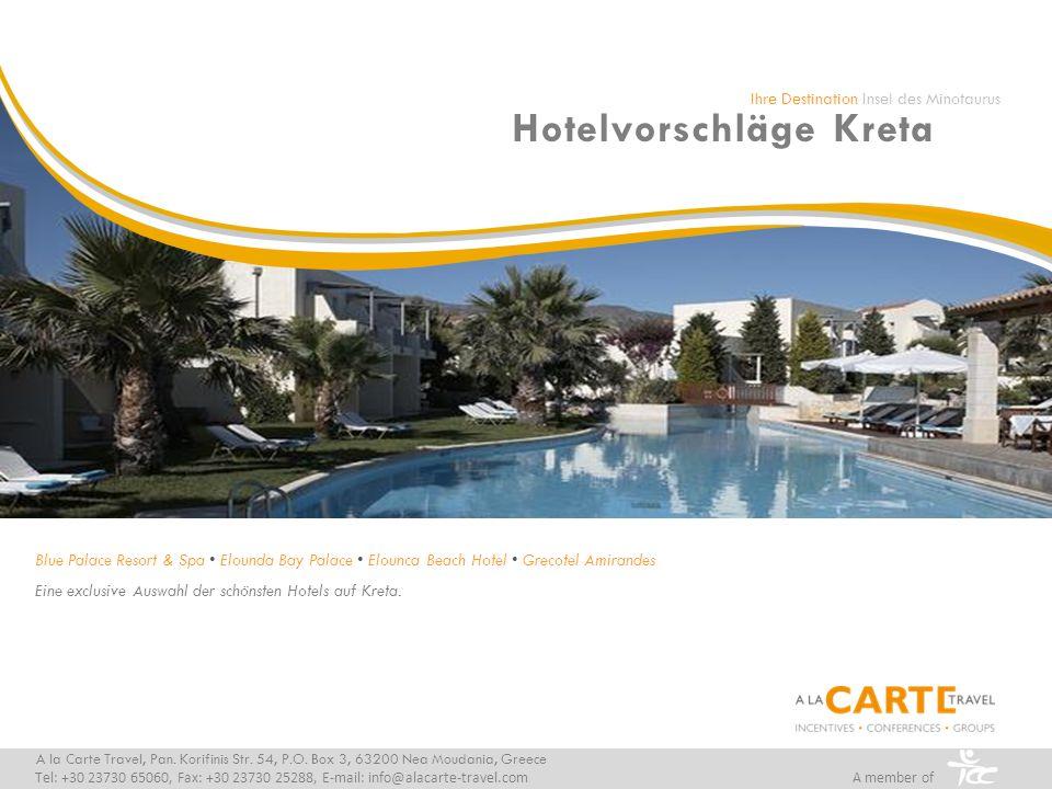Hotelvorschläge Kreta